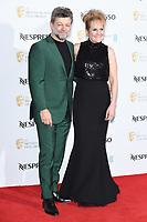 Andy Serkis and Lorraine Ashbourne<br /> arriving for the 2019 BAFTA Film Awards Nominees Party at Kensington Palace, London<br /> <br /> ©Ash Knotek  D3477  09/02/2019