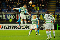 26.02.2015. Milan, Italy.  Nir Biton of  Celtic FC  in action during the Europa League soccer match between Inter Milan and Celtic FC at San Siro Stadium in Milan, Italy.