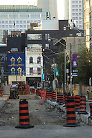 Toronto (ON) CANADA - July 2012 - street repair