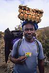 Porter, Kilimanjao ascent, Tanzania, 2006.