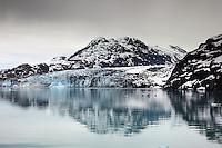 Glacier Bay glacier and mountains