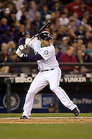 May 19, 2010: Seattle Mariners' Matt Tuiasosopo (27) at-bat during a game against the Toronto Blue Jays at Safeco Field in Seattle, Washington.