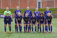 team of Anderlecht with goalkeeper Justien Odeurs (13) of Anderlecht   Tine De Caigny (6) of Anderlecht   Britt Vanhamel (4) of Anderlecht   Tessa Wullaert (27) of Anderlecht   Laura De Neve (8) of Anderlecht   +Mariam Abdulai Toloba (19) of Anderlecht   Sarah Wijnants (11) of Anderlecht   Laura Deloose (14) of Anderlecht   Stefania Vatafu (10) of Anderlecht   Kassandra Missipo (12) of Anderlecht   Jarne Teulings (16) of Anderlecht   pictured during a female soccer game between RSC Anderlecht Dames and AA Gent Ladies on the fifth matchday of play off 1 of the 2020 - 2021 season of Belgian Womens Super League , saturday 8 th of May 2021  in Brussels , Belgium . PHOTO SPORTPIX.BE | SPP | STIJN AUDOOREN