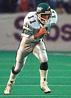 Stew Fraser Saskatchewan Roughriders 1985. Photo F. Scott Grant