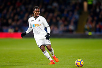 Renato Sanches of Swansea City during the Premier League match between Burnley and Swansea City at Turf Moor, Burnley, England, UK. Saturday 18 November 2017