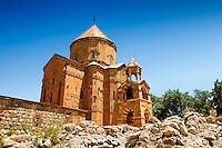 10th century Armenian Orthodox Cathedral of the Holy Cross on Akdamar Island, Lake Van Turkey 69
