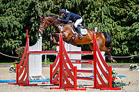 AUS-Sammi Birch rides Hunter Valley during the Showjumping for the CCI-S 4*. 2021 GBR-Bicton International Horse Trials. Devon. Great Britain. Saturday 12 June. Copyright Photo: Libby Law Photography