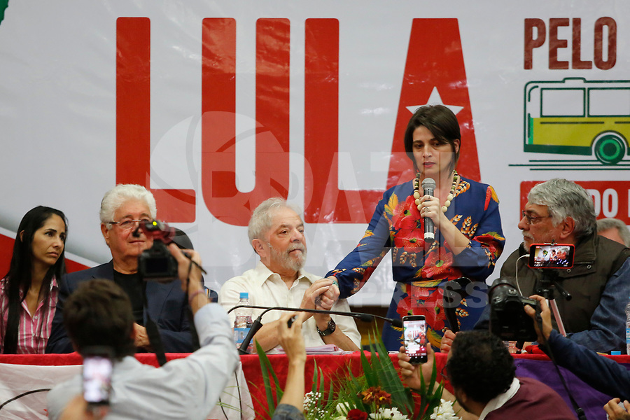 FOZ DO IGUAÇU, PR, 26.03.2018 – LULA – PR – O ex-presidente Luiz Inacio Lula da Silva durante caravana pela cidade de Foz do Iguaçu no Paraná na tarde desta segunda-feira (26). (Foto: Paulo Lisboa/Brazil Photo Press)