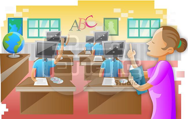 E-Learning class