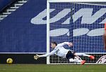 21.02.2021 Rangers v Dundee Utd: Allan McGregor beaten for Dundee Utd's goal