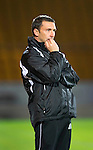 St Johnstone v Queen of the South...21.09.10  CIS Cup 3rd Round.Nailbiting for Derek McInnes.Picture by Graeme Hart..Copyright Perthshire Picture Agency.Tel: 01738 623350  Mobile: 07990 594431