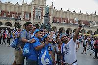 World Youth day Krakow 2016<br /> Selfie di gruppo