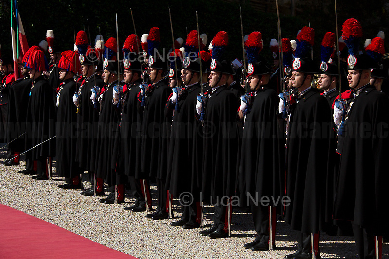 Carabinieri (historic uniform).<br />