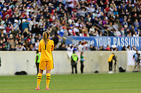 HARRISON, NJ - MARCH 08: Alyssa Naeher #1 of the United States during a game between Spain and USWNT at Red Bull Arena on March 08, 2020 in Harrison, New Jersey.