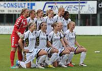 Club Brugge Dames - Telstar Ijmuiden : team Telstar<br /> foto Dirk Vuylsteke / nikonpro.be