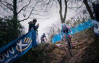 VERDONSCHOT Laura (BEL/Marlux-Bingoal)<br /> <br /> Brussels Universities Cyclocross (BEL) 2019<br /> Women's Race<br /> DVV Trofee<br /> ©kramon