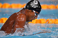 Sharath Gayakward of IND competes in 200 meter para sports individual medley final during Commonwealth Games Swimming, Monday, July 28, 2014 in Glasgow, United Kingdom. (Mo Khursheed/TFV Media via AP Images)