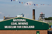 The National Coal Mining Museum for England, formerly Caphouse Colliery, in Overton, West Yorkshire.  The pit, just outside Wakefield, closed in 1985.