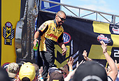 NHRA Mello Yello Drag Racing Series<br /> Summit Racing Equipment NHRA Nationals<br /> Summit Racing Equipment Motorsports Park, Norwalk, OH USA<br /> Sunday 25 June 2017 J.R. Todd, DHL, Funny Car,<br /> <br /> World Copyright: Will Lester Photography