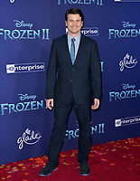 """LOS ANGELES, USA. November 08, 2019: Jason Ritter at the world premiere for Disney's """"Frozen 2"""" at the Dolby Theatre.<br /> Picture: Paul Smith/Featureflash"""