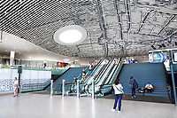 Nederland Delft - 2018. Station Delft, ontworpen door Mecanoo.    Foto Berlinda van Dam / Hollandse Hoogte