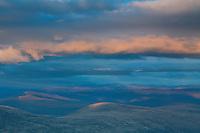 Lochnagar from Derry Cairngorm at dusk, Cairngorms National Park, Aberdeenshire
