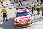 #18: Kyle Busch, Joe Gibbs Racing, Toyota Supra Combos drivers to victory lane