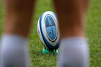 6th February 2021; Brentford Community Stadium, London, England; Gallagher Premiership Rugby, London Irish versus Gloucester; Gallagher Premiership Rugby ball on kicking stand