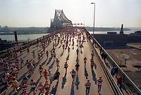 Le Marathon<br />  de Montreal, le 23 septembre 1983<br /> <br /> PHOTO : Agence Quebec Presse