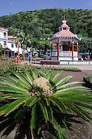 Jardim  da Republica in Velas auf der Insel Sao Jorge, Azoren, Portugal