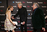 """Annaleigh Ashford, Victor Garber and Harvey Fierstein attends the Broadway Opening Night of """"Tootsie"""" at The Marquis Theatre on April 22, 2019  in New York City."""