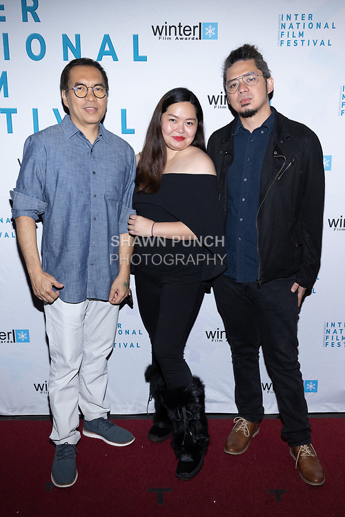 Guests attend the 10th Annual Winter Film Awards International Film Festival Gala on October 2, 2021 at 230 Fift Avenue in New York City.