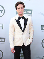 HOLLYWOOD, LOS ANGELES, CA, USA - JUNE 05: Diego Boneta at the 42nd AFI Life Achievement Award Honoring Jane Fonda held at the Dolby Theatre on June 5, 2014 in Hollywood, Los Angeles, California, United States. (Photo by Xavier Collin/Celebrity Monitor)