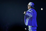 Justin Bieber performs at the MGM Grand Garden Arena on Friday, June 28, 2013 in Las Vegas. (Photo by Powers Imagery/Invision/AP)