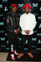 MIAMI, FL - FEBRUARY 19: Shabazz 'The OG' Lowe & P-Reala attend Floyd Mayweather's 44th futuristic Birthday Party at Casablanca on the Bay on February 19, 2021 in Miami, Florida. Photo Credit: Walik Goshorn/Mediapunch