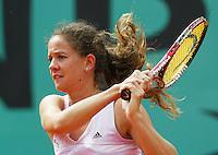 29-5-06,France, Paris, Tennis , Roland Garros, Patty Schnyder in her first round match