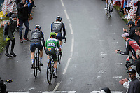 green jersey Mark Cavendish (GBR/Deceuninck-Quick Step), up the Col de la Colombière<br /> <br /> Stage 8 from Oyonnax to Le Grand-Bornand (150.8km)<br /> 108th Tour de France 2021 (2.UWT)<br /> <br /> ©kramon