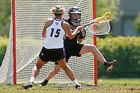 20 June 2006: Laura Shane during Stanford's 17-9 loss to Northwestern in the first round of the 2006 NCAA Lacrosse Championships in Evanston, IL. Stanford made it to the NCAA's for the first time in school history.