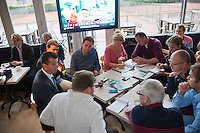 09-01-14, Netherlands, Rotterdam, TC Kralingen, ABNAMROWTT Press-conference,   Richard Krajicek gives interview<br /> Photo: Henk Koster