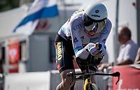 Jonas Vingegaard (DEN/Jumbo-Visma)<br /> <br /> Stage 20 (ITT) from Libourne to Saint-Émilion (30.8km)<br /> 108th Tour de France 2021 (2.UWT)<br /> <br /> ©kramon
