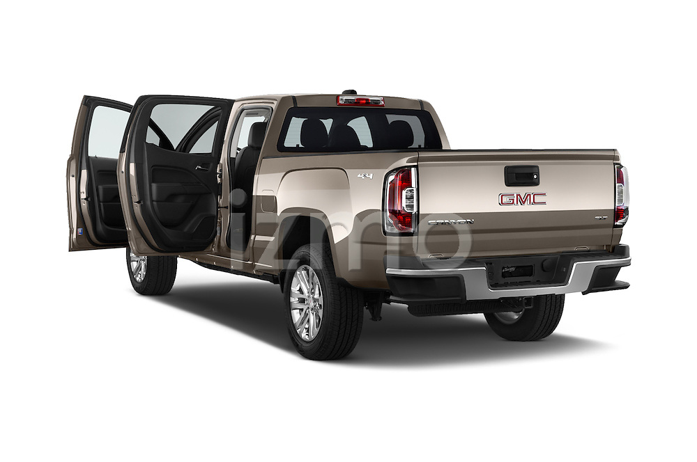 Car images of a 2015 GMC Canyon Slt 4 Door Pickup 2WD Doors