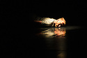 """London, UK. 15.04.2014. HeadSpaceDance present IF PLAY IS PLAY..., a triple bill of new work, in the Linbury Studio, Royal Opera House, London. Picture shows:  Christopher Akrill in """"Two"""". Photograph © Jane Hobson."""