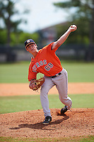 Houston Astros pitcher Ben Smith (68) during an Instructional League game against the Atlanta Braves on September 26, 2016 at Osceola County Stadium Complex in Kissimmee, Florida.  (Mike Janes/Four Seam Images)