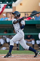 Melky Mesa (29) of the Tampa Yankees during a game vs. the Lakeland Flying Tigers May 15 2010 at Joker Marchant Stadium in Lakeland, Florida. Tampa won the game against Lakeland by the score of 2-1.  Photo By Scott Jontes/Four Seam Images
