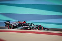 44 HAMILTON Lewis (gbr), Mercedes AMG F1 GP W12 E Performance, action during Formula 1 Gulf Air Bahrain Grand Prix 2021 from March 26 to 28, 2021 on the Bahrain International Circuit, in Sakhir, Bahrain <br /> 26/03/2021 <br /> Formula 1 Gp Bahrein <br /> Photo DPPI/Panoramic/Insidefoto <br /> Italy Only <br /> 26/03/2021 <br /> Formula 1 Gp Bahrein <br /> Photo DPPI/Panoramic/Insidefoto <br /> Italy Only