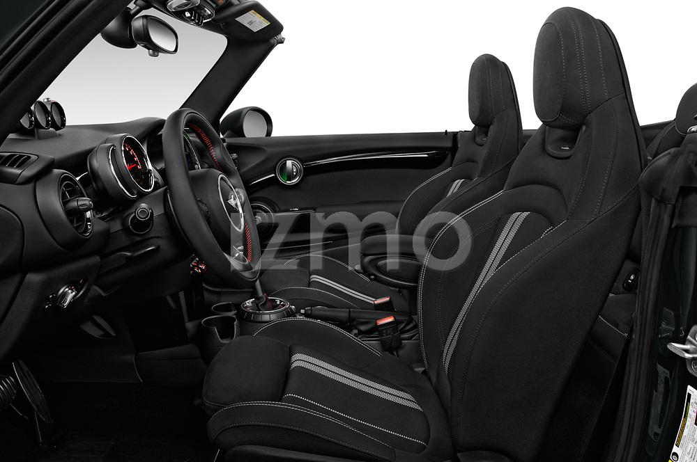 Front seat view of 2017 Mini Cooper John Cooper Works 2 Door Convertible front seat car photos