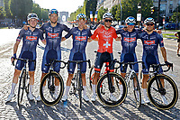 18th July 2021; Paris, France;  TEAM ALPECIN FENIX during stage 21 of the 108th edition of the 2021 Tour de France cycling race, the stage of 108,4 kms between Chatou and finish at the Champs Elysees in Paris.