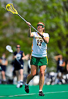 1 May 2010: University of Vermont Catamount midfielder Alison Haigh, a Senior from Northborough, MA, in action against the University of New Hampshire Wildcats at Moulton Winder Field in Burlington, Vermont. The Lady Catamounts fell to the visiting Wildcats 18-10 in the last game of the 2010 regular season. Mandatory Photo Credit: Ed Wolfstein Photo