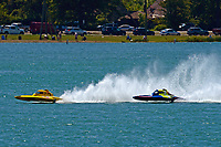 """Frame 1: Andrew Tate, H-300 """"Pennzoil"""", Donny Allen, H-14 """"Legacy 1""""       (H350 Hydro)"""