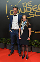 2018207 – BRUSSELS ,  BELGIUM : Davina Philtjens (R) pictured during the  64nd men edition of the Golden Shoe award ceremony and 2nd Women's edition, Wednesday 7 February 2018, in Brussels Heyzel Palace 12. The Golden Shoe (Gouden Schoen / Soulier d'Or) is an award for the best soccer player of the Belgian Jupiler Pro League championship during the year 2017. The female edition is a second in Belgium.  PHOTO DIRK VUYLSTEKE | Sportpix.be